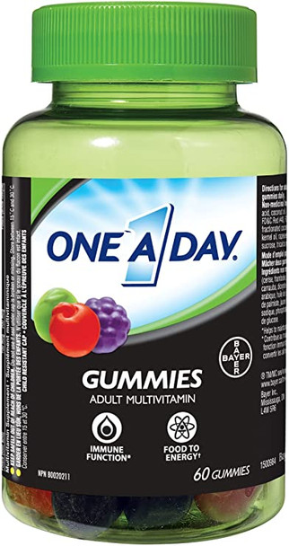 one a day gummies