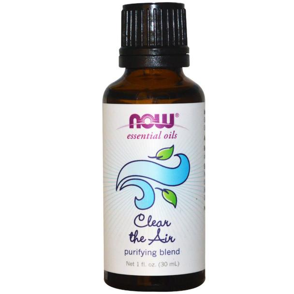Now Clear The Air Essential Oils Blend, 1 fl. oz. 30 ml