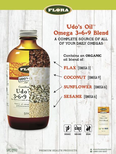 Udo's ChoiceÌÎå«Ì´åUdoÌ´Ì_ÌÎ̴̝åÈs OilÌ´Ì_ÌÎå£Ì´å¢ DHA 3+6+9 Blend, 500 ml