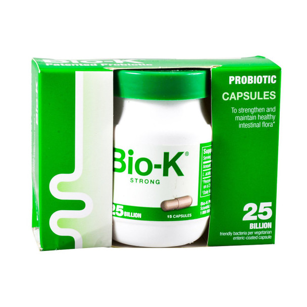 Bio-K Plus 25 Billion, 15 Caps