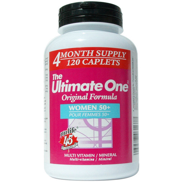 Nu-Life The Ultimate One Women 50+ 120 Caplets