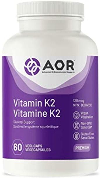 AOR Vitamin K2 120mcg 60 caps