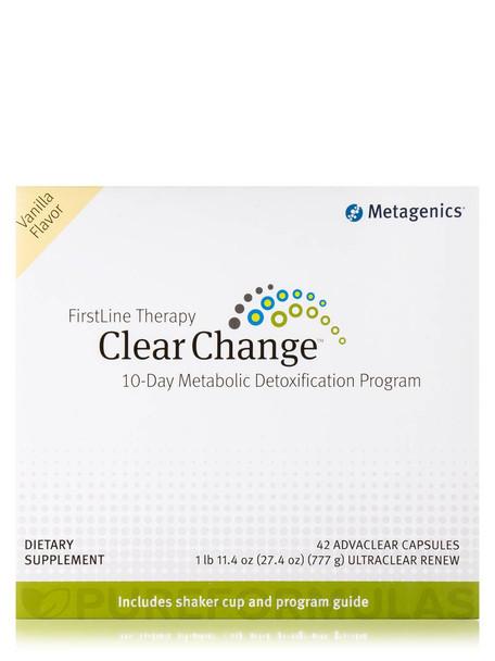 Clear Change 10 Day Program, Metabolic Detoxification System