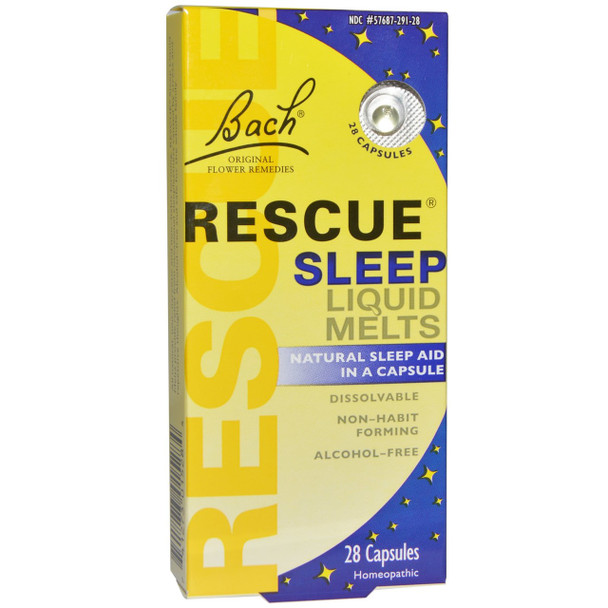 Bach Rescue Night Liquid Melts, 28