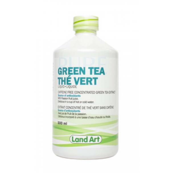 Land Art Green Tea Liquid, 500 ml