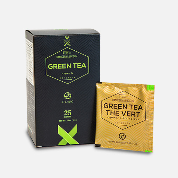 Organo Gold Organic Green Tea (25 sachets)