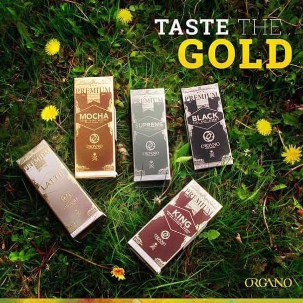 5 PackOrgano Gold Health in a Cup of Coffee or Teahttp://www.store.suttonapothecary.com/organo-gold-king-of-coffee-25-sachets/