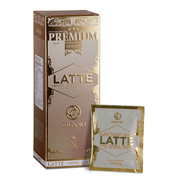 5 Pack - Organo Gold Health in a Cup of Coffee or Tea