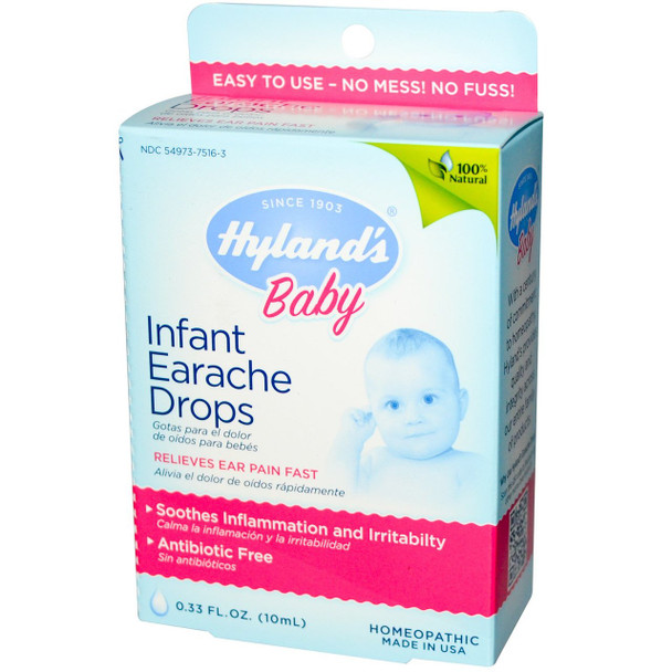 Hyland's Infant Earache Drops, 10 ml