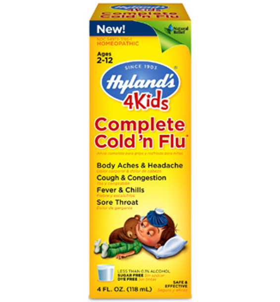 Hyland's Kids Complete Cold'n Flu-118 ml