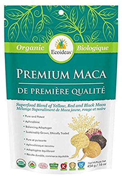 Ecoideas Premium Maca, 454 g