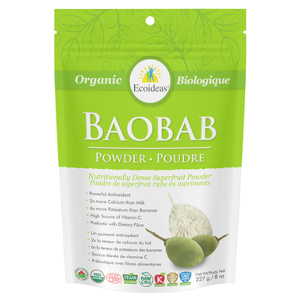 Ecoideas Boabab Powder Large, 454 g