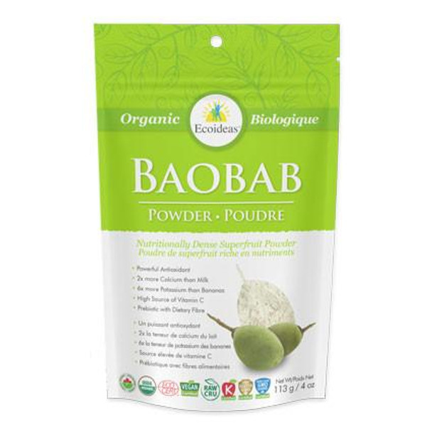 Ecoideas Boabab Powder, 113 kg