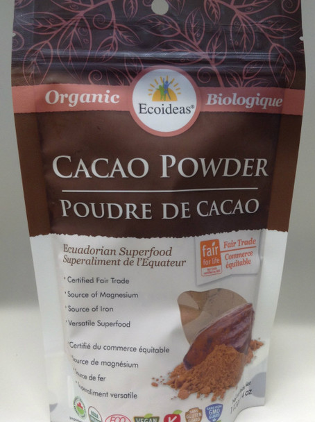 Ecoideas Cacao Powder Small, 113 g