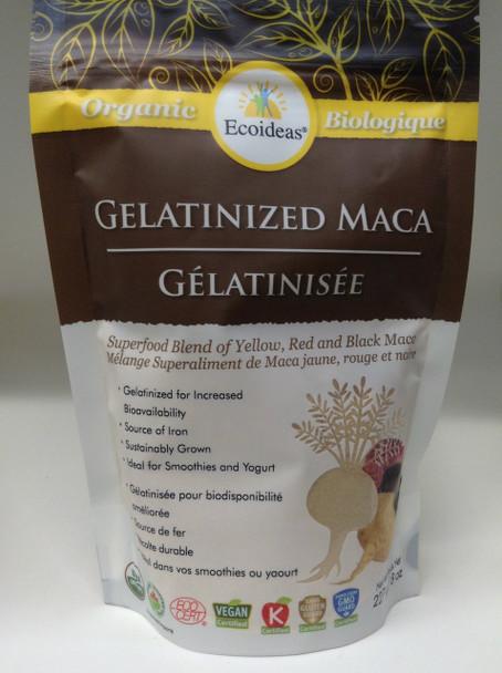 Ecoideas Gelatinized Maca Small, 227 g