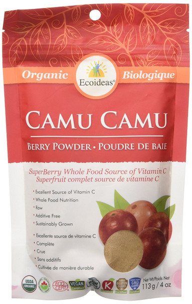 Ecoideas Camu Camu Berry Powder, 113g