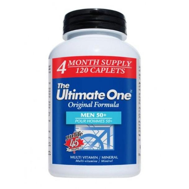Nu-Life The Ultimate One Active Men 50+ Multivitamin 60 Caplets