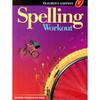 Spelling Workout Level F Teacher Book Grade 6 9780765224934