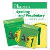 Horizons Grade 1 Spelling & Vocabulary Complete Set