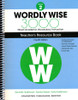 Wordly Wise 3000 4th Edition Book 2 Teacher Resource Book