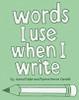 Word i use when i write green book