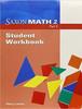 Saxon Math Grade 2 Individual Student Unit/Workbook Set part 2
