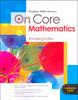 on core math k student worktext