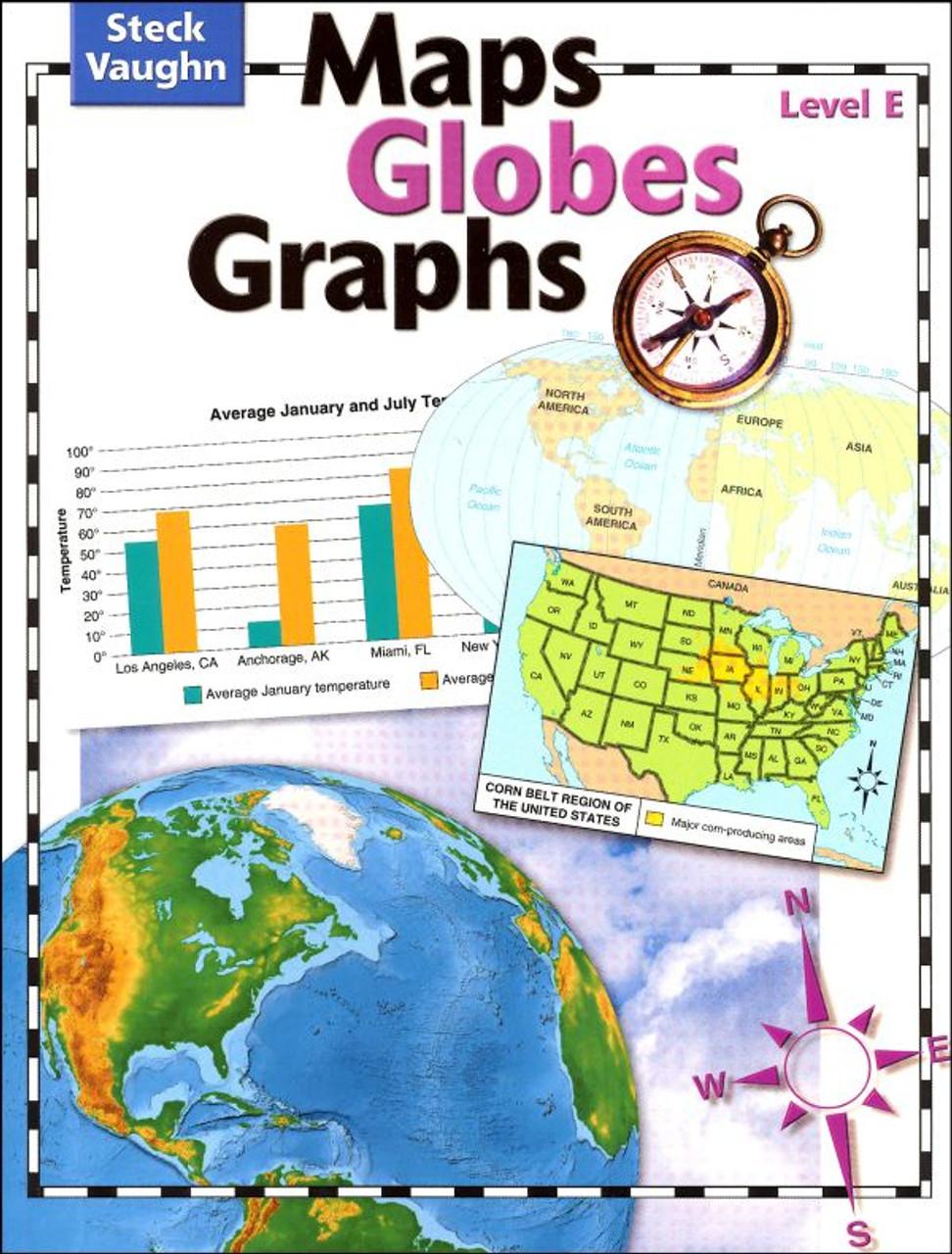 Maps Globes Graphs Level E Student Grade 5