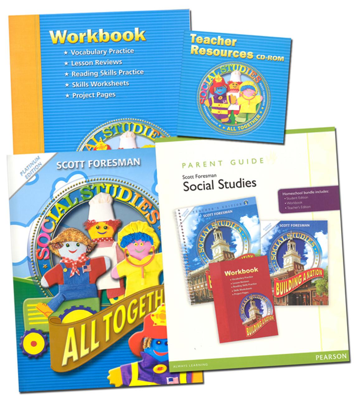 Scott Foresman Social Studies Grade 1 Bundle All Together