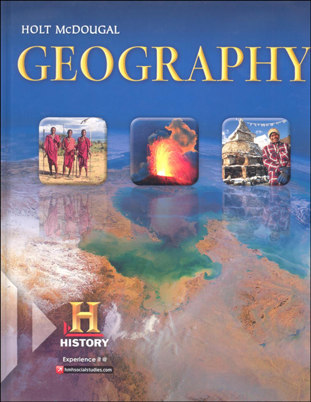 Holt McDougal Geography Grades 9 12 Student Textbook