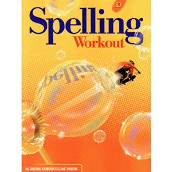 Spelling Workout Level D Student Wkbk Grade 4 9780765224835