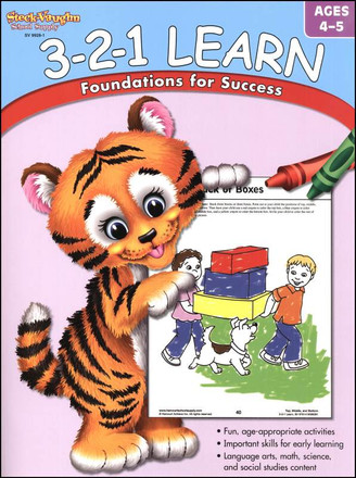 3-2-1 Learn: Foundations for Success Ages 4-5