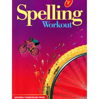 Spelling Workout Level F Student Wkbk 9780765224859