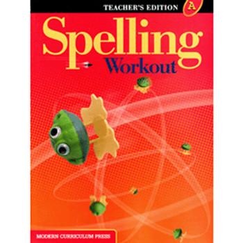 Spelling Workout Level A Teacher Book Grade 1 9780765224880