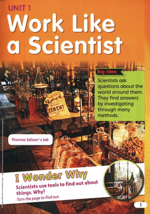 Science Fusion Grade 2 Student Edition Interactive Worktext