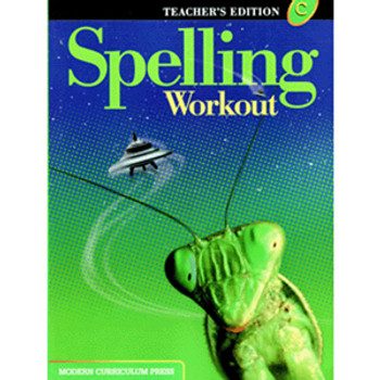 Spelling Workout Level C Teacher Book Grade 3 9780765224903