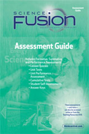 Science Fusion Grade 1 Assessment Guide