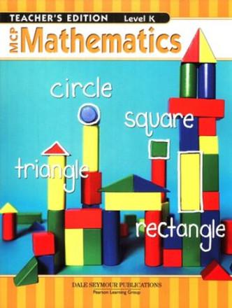 MCP Mathematics Level K Teacher - Kindergarten 9780765260550