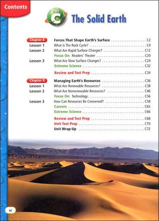 Houghton Mifflin Science Grade 4 Student Edition Textbook