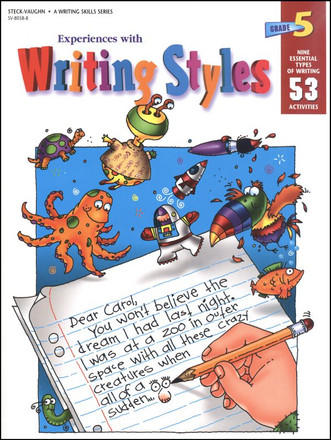 Experiences With Writing Styles Grade 5