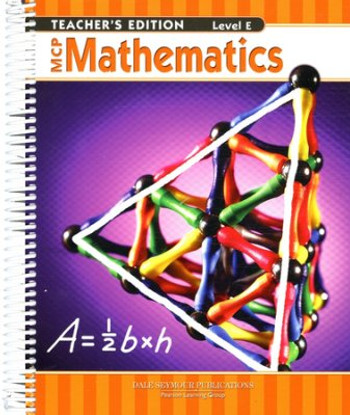 MCP Mathematics Level E Teacher 5th Grade 9780765260659