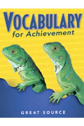 Vocabulary for Achievement Grade 3 Teacher's Edition