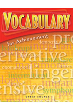 Vocabulary for Achievement Grade 6 Teacher's Edition - Introductory Course
