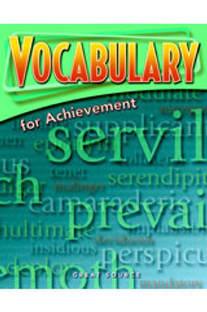 Vocabulary for Achievement Grade 11 Student Book - Five Pack