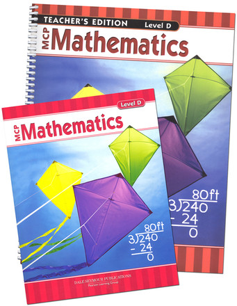 MCP Math Level D 4th Grade Bundle