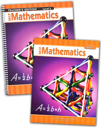 MCP Math Level E  5th Grade Bundle