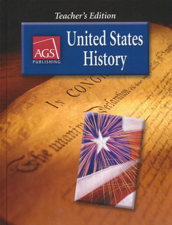 AGS United States History Grades 5-8 Teacher's Edition