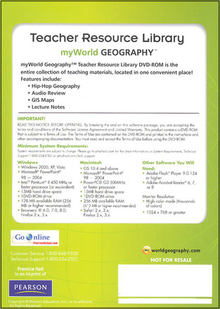 My World Geography Grades 7-8 Bundle