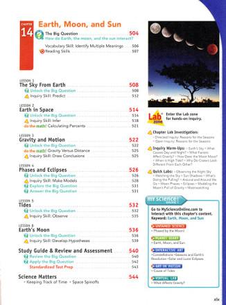 Interactive Science Grades 6-8 Earth Science Bundle