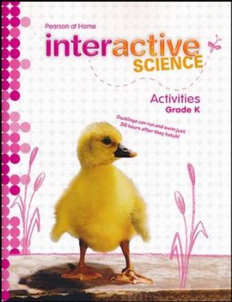 Interactive Science Grade K Science Activity Book